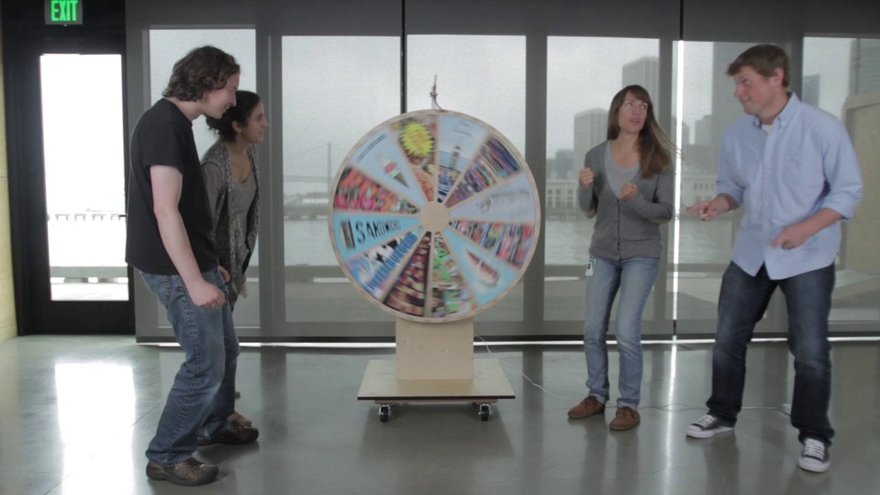 INSTRUCTABLES: Lunch Decider Wheel